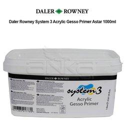 Daler Rowney - Daler Rowney System 3 Acrylic Gesso Primer Astar 1000ml
