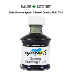 Daler Rowney System 3 Screen Drawing Fluid 75ml - Thumbnail