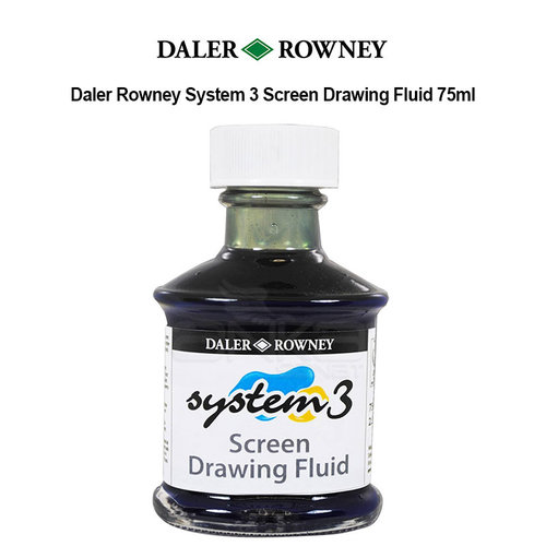 Daler Rowney System 3 Screen Drawing Fluid 75ml