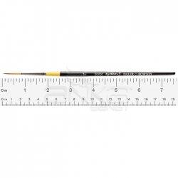 Daler Rowney - Daler Rowney System 3 Seri 50 Script Short Handle Kısa Saplı Çizgi Dal Fırçası No 1