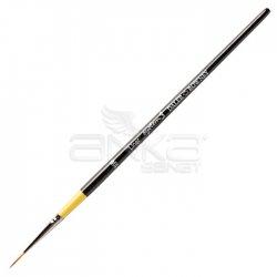 Daler Rowney - Daler Rowney System 3 Seri 51 Liner Short Handle Kısa Saplı Çizgi Dal Fırçası No 10/0 (1)