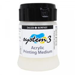 Daler Rowney - Daler Rowney System 3 Acrylic Printing Medium (1)