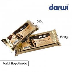 Darwi - Darwi Classic Seramik Hamuru Toprak Rengi