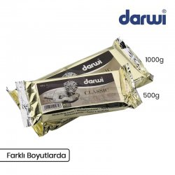 Darwi - Darwi Classic Seramik Hamuru Beyaz