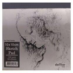 Deffter - Deffter da Vinci Seri Sketch Pad 140g 50 Yaprak (1)