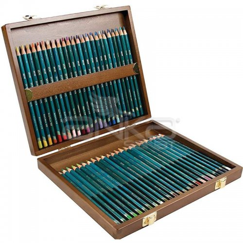 Derwent Artists Pencils Artist Kuru Boya Kalemi 48li Set Ahşap Kutu