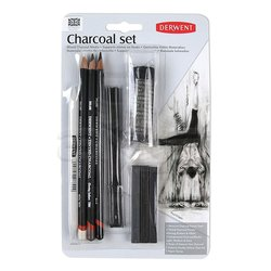 Derwent Charcoal Pencils Füzen Seti - Thumbnail