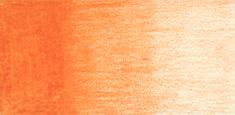 Derwent - Derwent Coloursoft Kuru Boya Kalemi Bright Orange C080