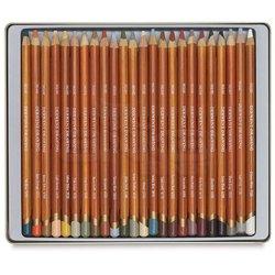 Derwent Drawing Yağlı Eskiz Kalemi 24lü Set - Thumbnail