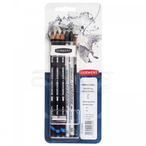 Derwent Fine Art Pencils Watersoluble Sketching Set 0700665