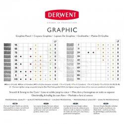 Derwent Graphic Dereceli Kalem 24lü Set - Thumbnail