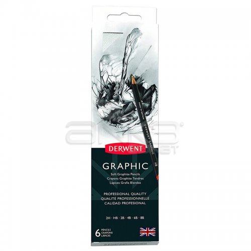 Derwent Graphic Dereceli Kalem 6lı Set