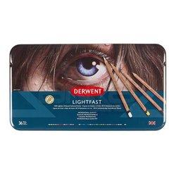 Derwent - Derwent Lightfast Yağ Bazlı Kuru Boya Seti 36lı