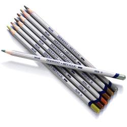 Derwent - Derwent Metallic Pencil Sulu Boya Kalemi (1)
