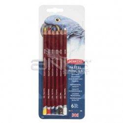 Derwent - Derwent Pastel Pencils Pastel Kalemi 6lı Set