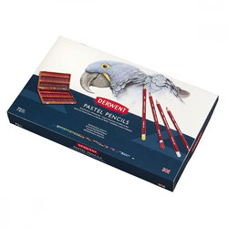 Derwent - Derwent Pastel Pencils 72li Ahşap Kutu Pastel Kalem Seti (1)