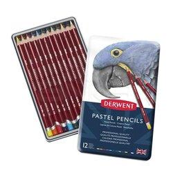 Derwent - Derwent Pastel Pencils Pastel Kalemi 12li Set 32991