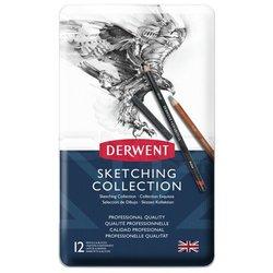 Derwent - Derwent Sketching Collection 12li Set