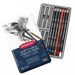 Derwent - Derwent Sketching Collection 12li Set (1)