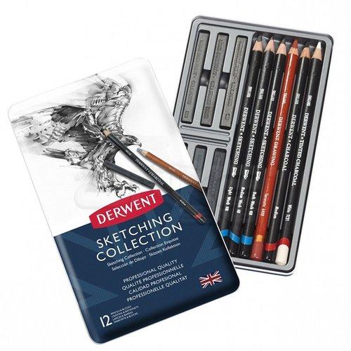 Derwent Sketching Collection 12li Set