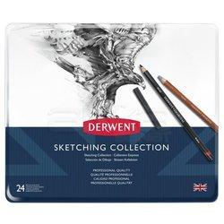 Derwent Sketching Collection 24lü Set - Thumbnail