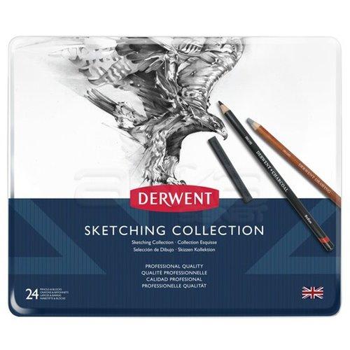 Derwent Sketching Collection 24lü Set