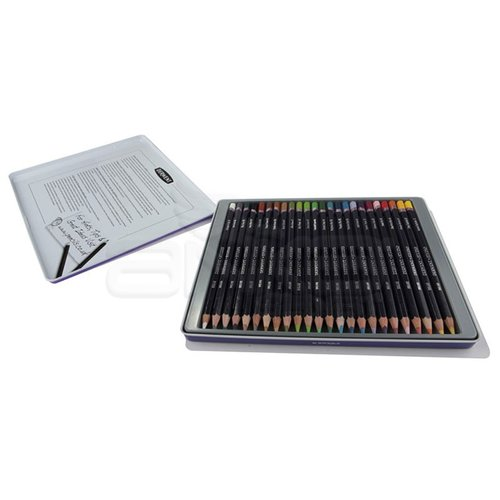 Derwent Studio Colour Pencil Kuru Boya Kalemi 24lü Set