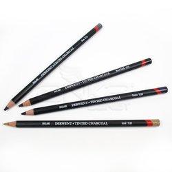 Derwent Tinted Charcoal Sulandırılabilen Renkli Füzen Kalem 24lü Set - Thumbnail