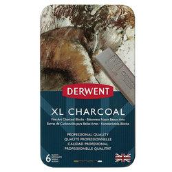 Derwent - Derwent XL Charcoal 6lı Füzen Set (1)