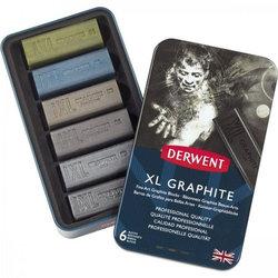 Derwent XL Graphite 6lı Grafit Set - Thumbnail