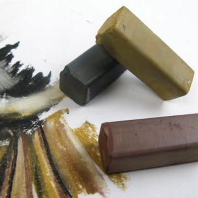 Derwent XL Charcoal Blocks Kalın Füzen