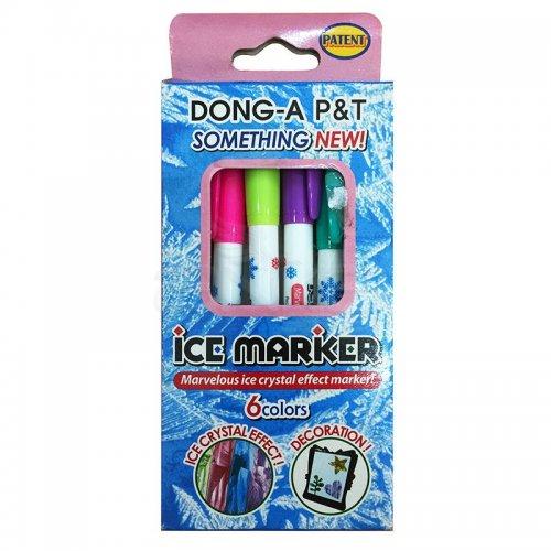 Dong-a Ice Marker Buz Görünümlü Keçeli Kalem 6lı