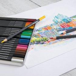 Eberhard Faber - Eberhard Faber Artist Color Kuru Boya Kalem Seti 24lü 516124 (1)