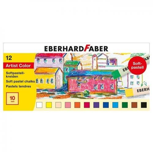 Eberhard Faber Artist Color Soft Pastel Seti 12li 522512