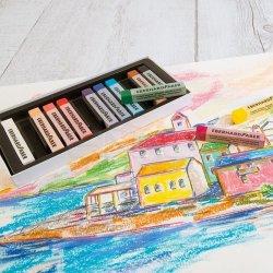 Eberhard Faber Artist Color Soft Pastel Seti 12li 522512 - Thumbnail