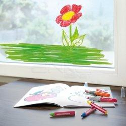 Eberhard Faber - Eberhard Faber Wax Crayons Cama Yazan Pastel Boya 12li 524112 (1)