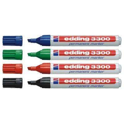 Edding 3300 Kesik Uçlu Permanent Markör Kalemi 1-5mm