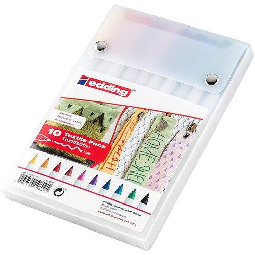 Edding 4600 Tekstil Kalemi 1mm 10lu Set Kutu