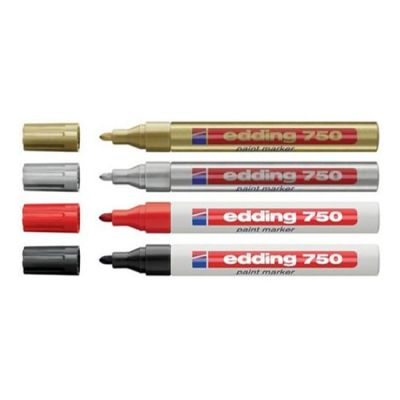 Edding 750 Paint Markör Kalem 2-4mm