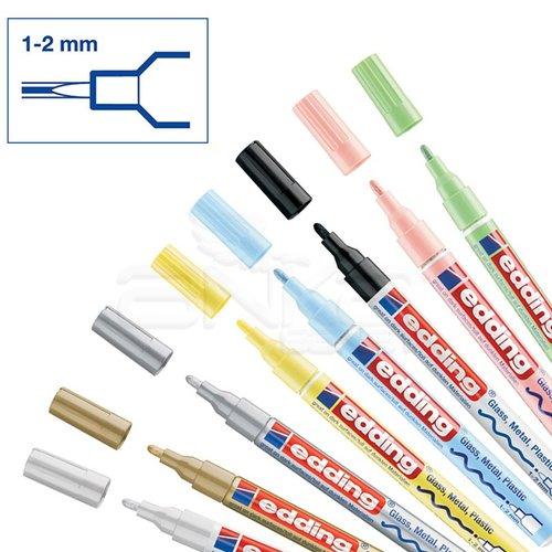Edding 751 Gloss Paint Marker Ana Renkler 1-2mm 8li Set