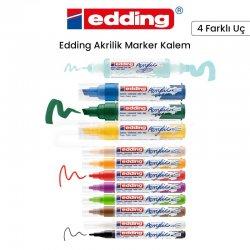 Edding - Edding Akrilik Marker Kalem