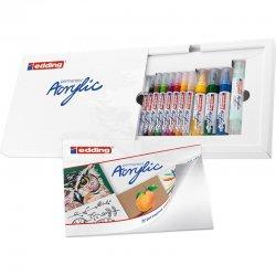 Edding - Edding Akrilik Marker Kalem Creative Set 12li (1)