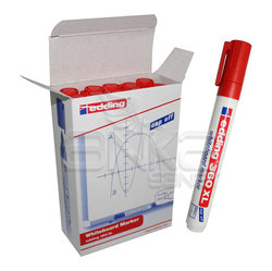 Edding - Edding Beyaz Tahta Kalemi 360 XL 10lu Kırmızı
