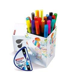 Edding Brushpen 1340 Fırça Uçlu Kalem Happy Box 20li Set - Thumbnail
