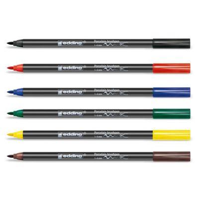 Edding Fırça Uçlu Porselen Kalemi 4200 1-4mm
