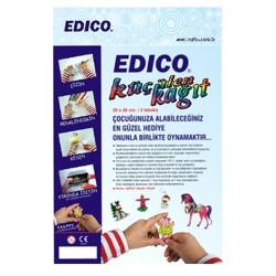 Anka Art - Edico 7 Times Küçülen Kağıt Siyah (2li Paket) 20x26cm