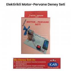 Elektrik Motor-Pervane Deney Seti - Thumbnail