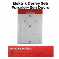 Anka Art - Elektrik Paralel-Seri Devre Deney Seti