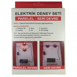 Anka Art - Elektrik Paralel-Seri Devre Deney Seti (1)