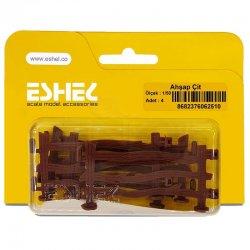 Eshel - Eshel Ahşap Çit 1-50 Paket İçi:4